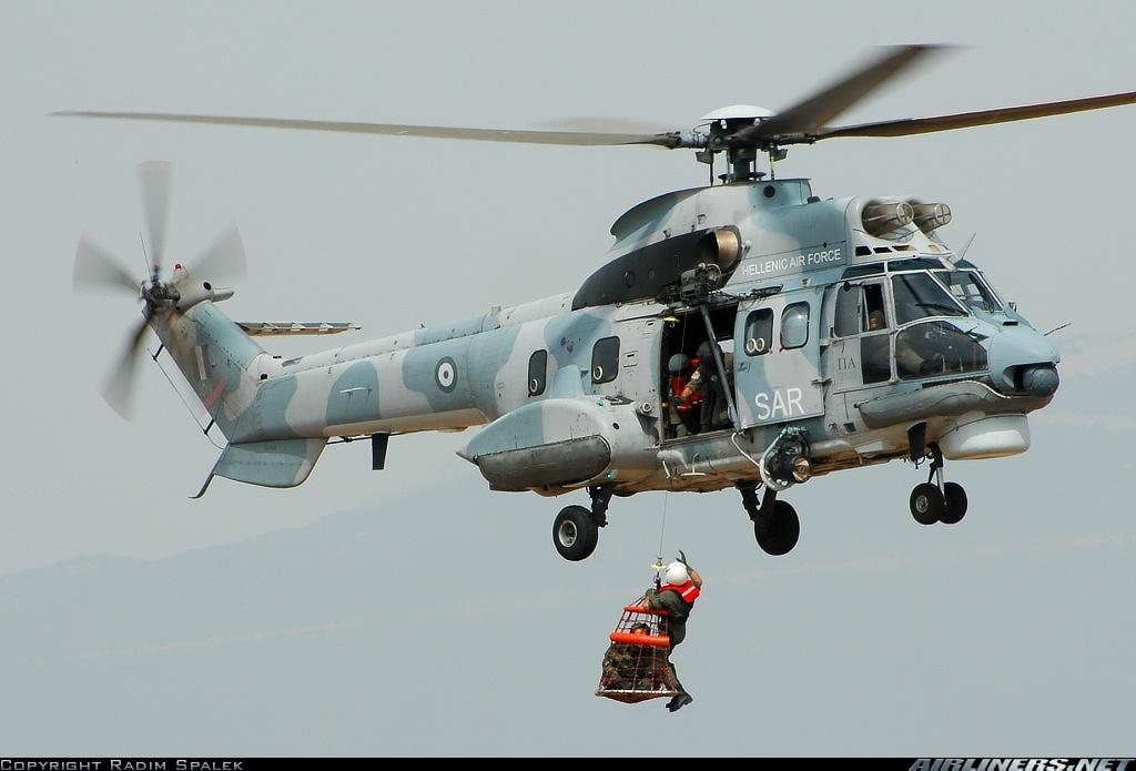 NAS GARRAS DO PUMA ! H-215M ( AS-332C1 Super Puma).