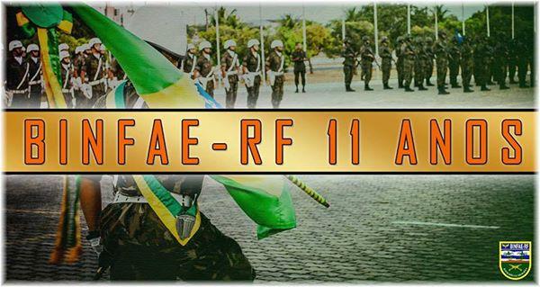 FAB PÉ DE POEIRA:  Batalhão de Infantaria da Aeronáutica Especial de Recife (BINFAE-RF)  -11º aniversário de criação.