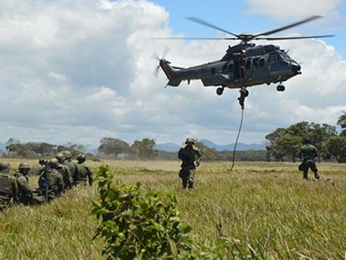 ADSUMUS: Fuzileiros Navais encerram a preparação do 25º Grupamento Operativo-Haiti