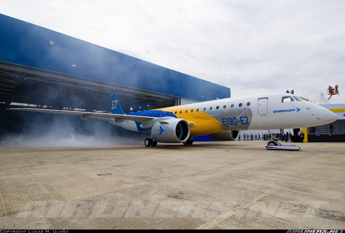 Embraer anuncia desenvolvimento de versão de Patrulha Marítima do E-190 E2 e KC-390