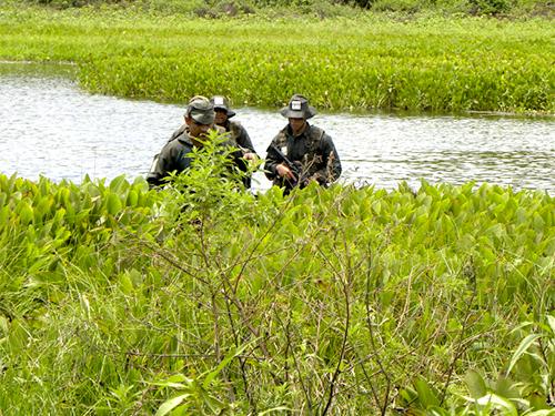 ADSUMUS: Grupamento de Fuzileiros Navais de Ladário (GptFNLa) recebe o curso Especial de Mergulhador de Combate