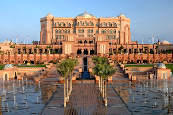 Vista Geral do Emirates Palace Hotel