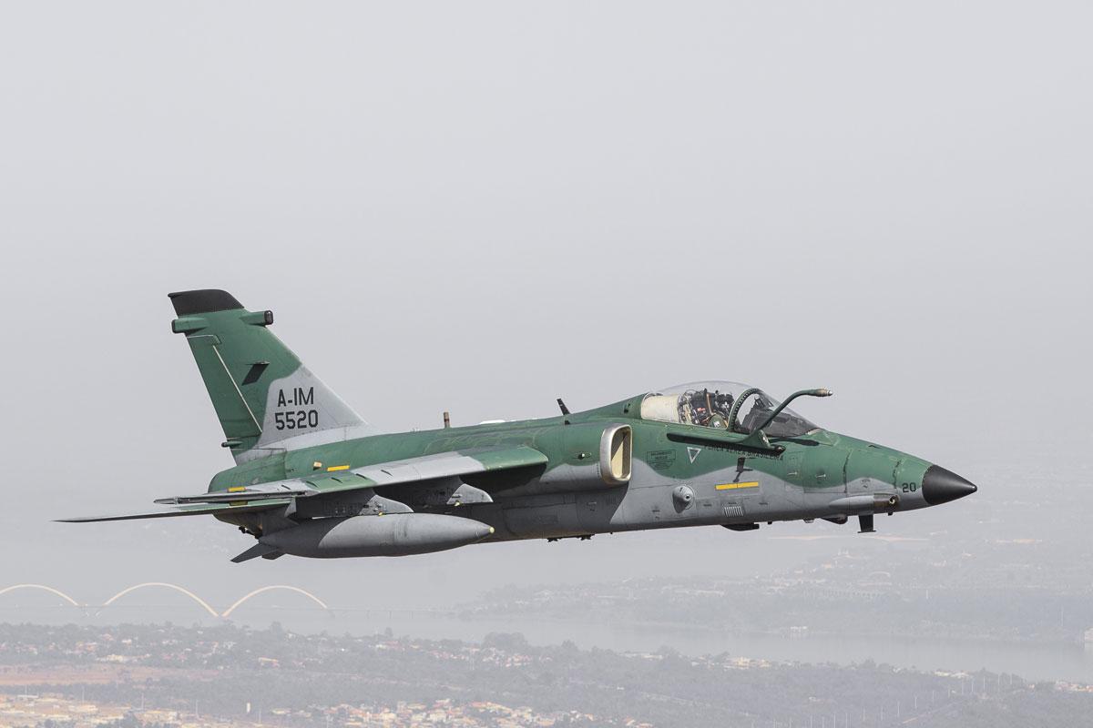 Alenia-Aermacchi-Embraer A-1 AMX – Pequeno e preciso avião de ataque