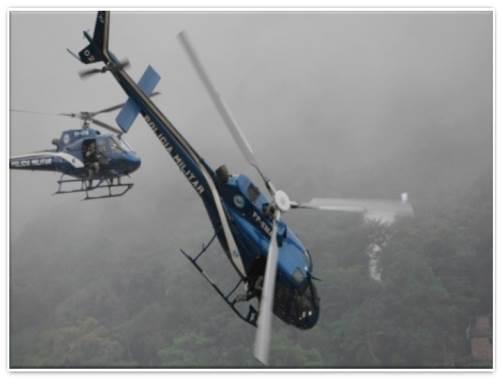 Helicóptero da PMERJ que caiu estava há mais de um ano sem manutenção