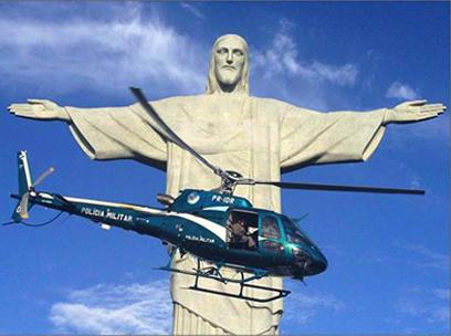 Grupamento Aeromóvel – GAM da  Polícia Militar do Estado do Rio de Janeiro (PMERJ)