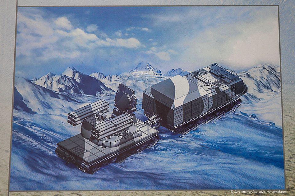 """Primeiras impressões sobre o sistema de defesa aérea ZRPK """" Pantsir-SA"""" *arctic*"""