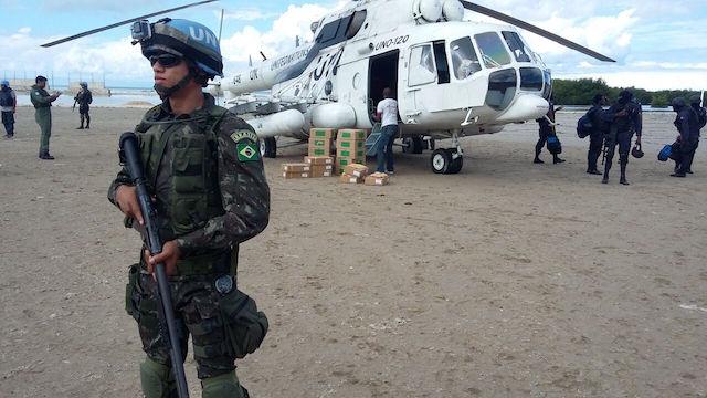 MINUSTAH: Contingente Brasileiro (CONTBRAS) apoia a realização das eleições no Haiti