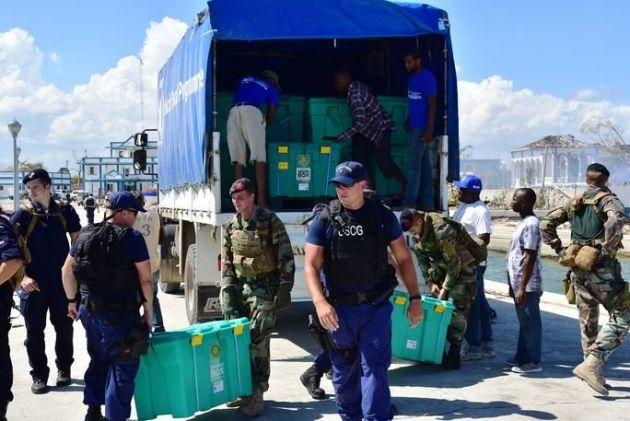 Resposta militar dos EUA ao furacão Matthew mostra planejamento e coordenação bem-sucedidos