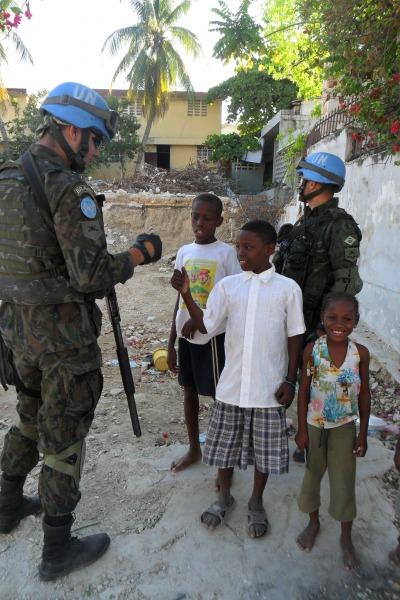 FAB PÉ DE POEIRA: Infantaria da Aeronáutica retorna à Missão de Paz da ONU no Haiti