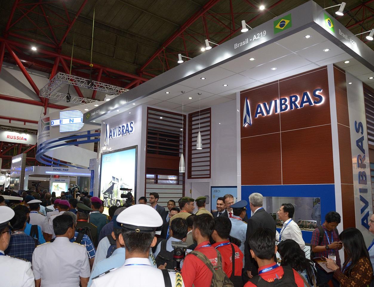 Avibras é destaque na Indo Defence