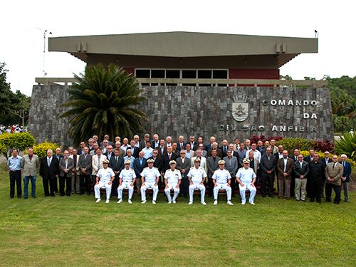 ADSUMUS: Comando-Geral do Corpo de Fuzileiros Navais (CGCFN) realiza encontro de Capitães de Mar e Guerra