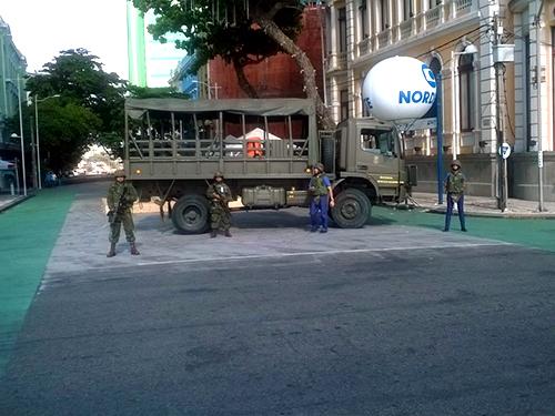 """""""Operação Pernambuco"""" recebe reforço de Fuzileiros Navais"""