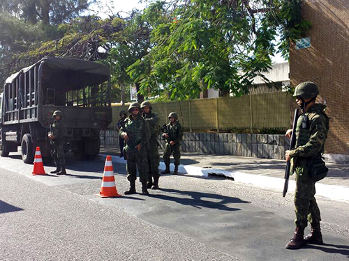 Presidência da República autoriza a ação das Forças Armadas