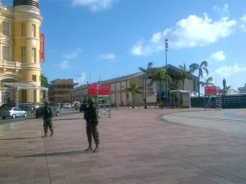Governo do Estado de Pernambuco solicitou o apoio dos Fuzileiros Navais