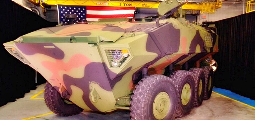 BAE Systems entrega 1° protótipo de blindado anfíbio aos Fuzileiros dos EUA.