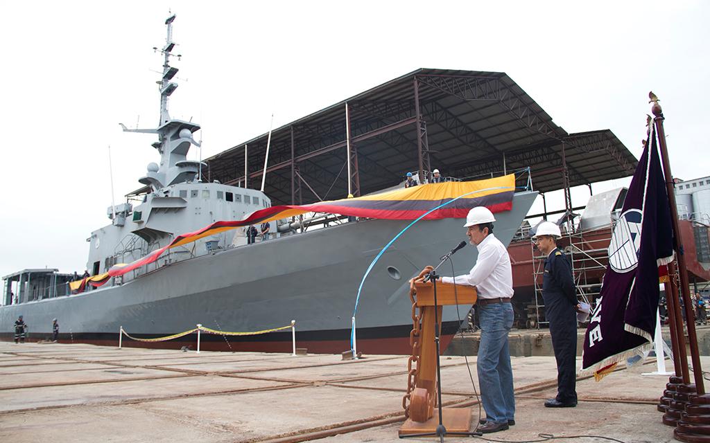 GALERIA: Equador investe USD 70,6 milhões para que 3 das suas corvetas porta-mísseis (com mais de 30 anos de uso) aguentem operar até o início da década de 2030…