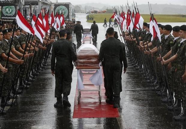 ESPECIAL: Conheça o 14º Regimento de Cavalaria Mecanizado, unidade incumbida do serviço fúnebre da delegação da Chapecoense (e que perdeu no desastre um de seus antigos lanceiros)