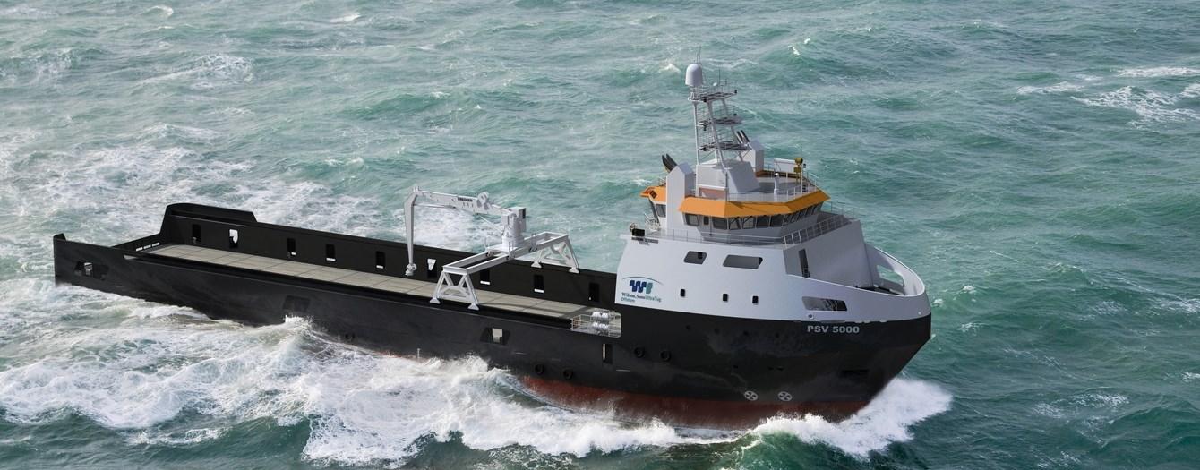 Marinha comemora lançamento de navio de 5.000 tons. para atividades 'offshore' que servirá ao adestramento de oficiais da Marinha Mercante