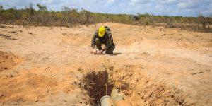 FAB PÉ DE POEIRA: Militares  concluem curso de neutralização e destruição de artefatos explosivos em Maxaranguape, no Rio Grande do Norte.
