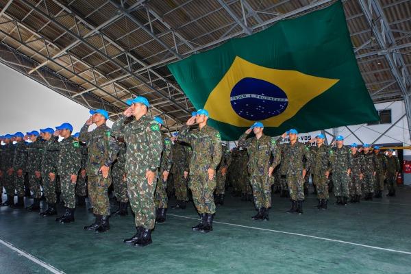 FAB PÉ DE POEIRA: FAB volta a atuar no Batalhão de Infantaria Brasileiro de Força de Paz no Haiti