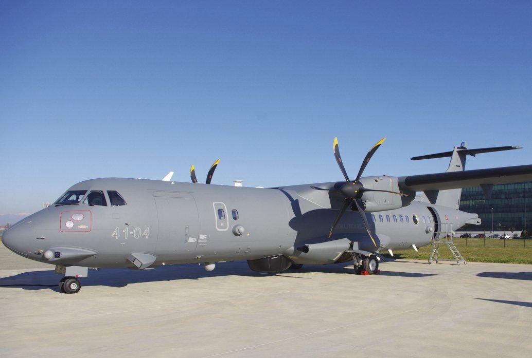 Força Aérea italiana recebe aeronaves de patrulha marítima P-72A