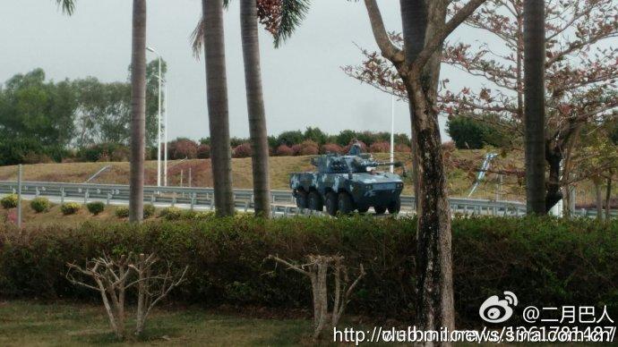 CHINA: Fuzileiros Navais recebem viatura blindada equipada com canhão 105 mm.