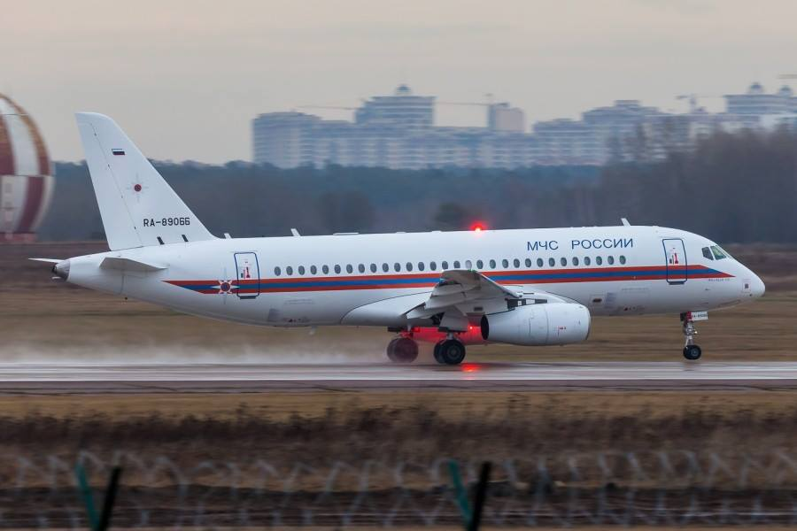 "Tecnologia: Sukhoi Superjet 100 ""MedEvac"""