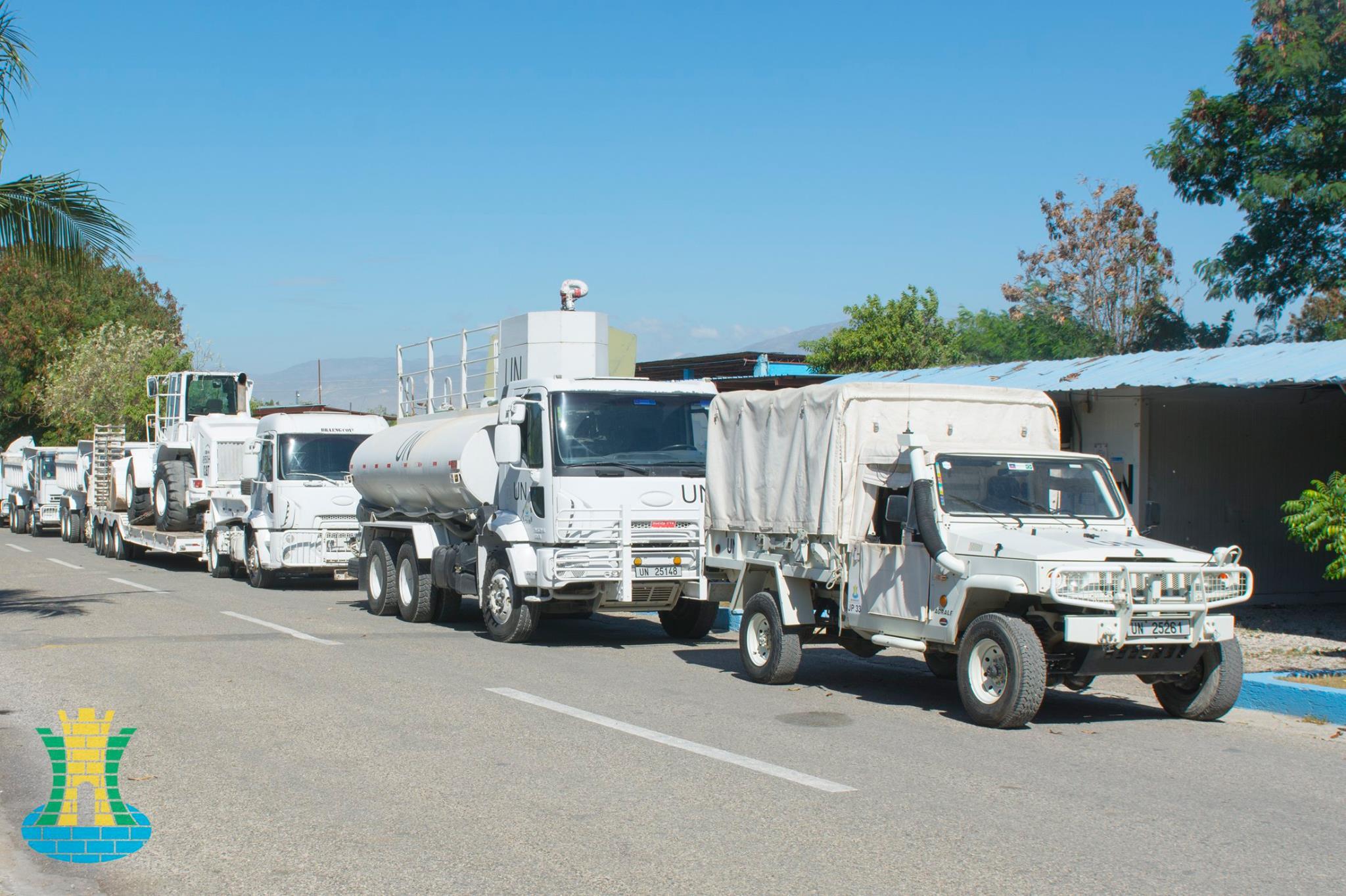 MINUSTAH: Companhia de Engenharia de Força de Paz Haiti apoia Componente Militar da ONU nos Departamentos do Sul e Grand-Anse.