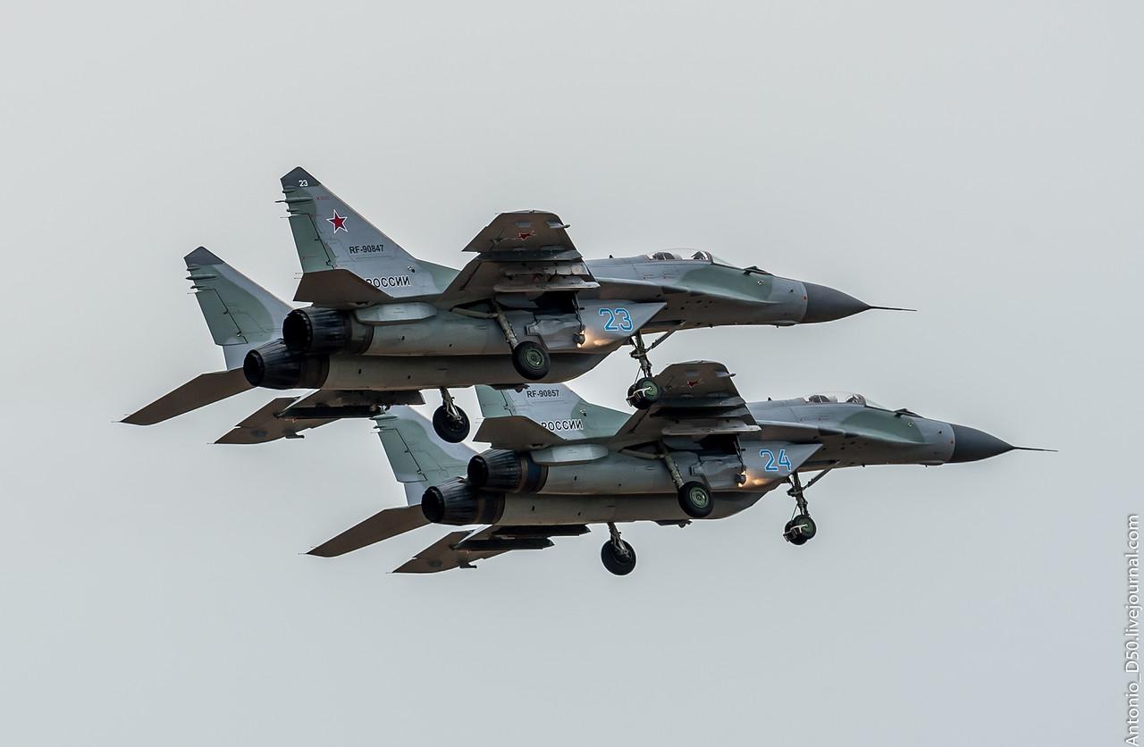 116º Centro de Treinamento de combate da Força Aérea Russa recebeu novos caças MiG-29 SMT e MIG-29UBM