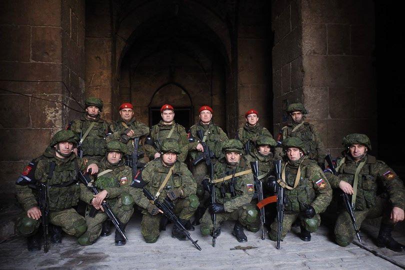 Documentário: Contingente checheno operando em Aleppo na Síria.
