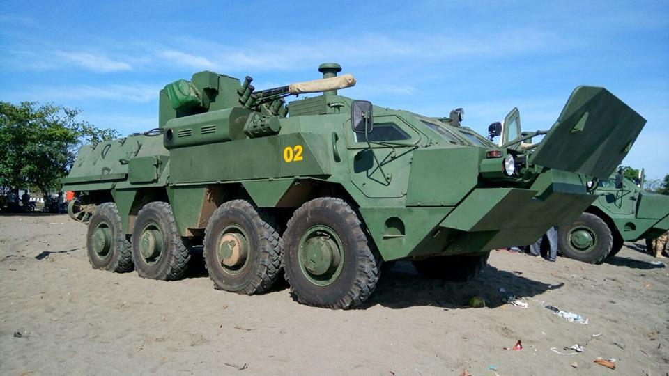 Rapidinhas Plano Brasil: Indonesia realiza testes com blindados 8X8 BTR-4 Bucephalus