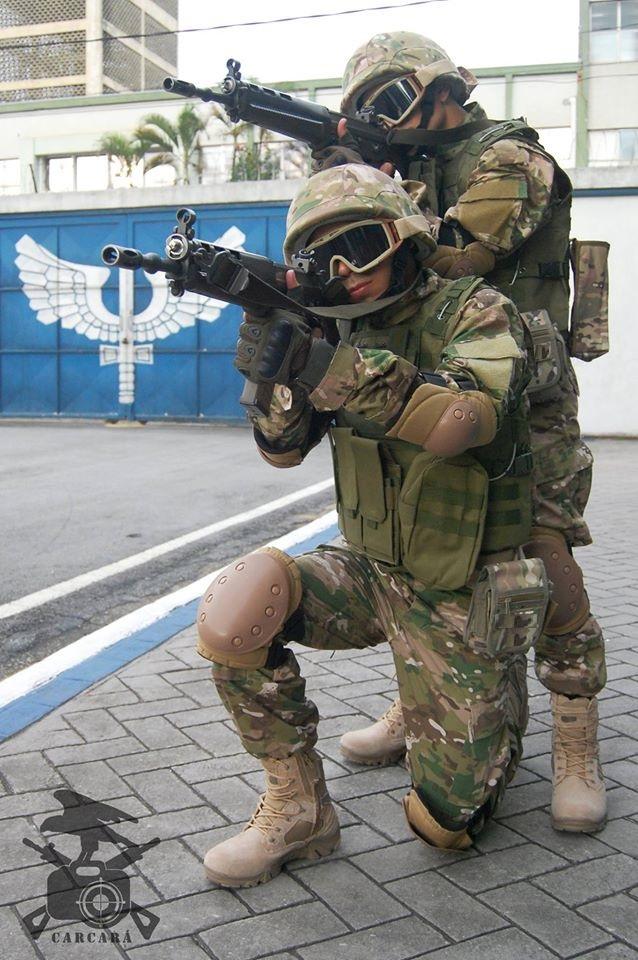 FAB PÉ DE POEIRA: BINFA 14 Batalhão Bandeirante realiza exercício de Força Oponente visando defesa de instalações.
