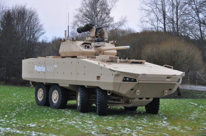 MERCADO DE BLINDADOS: Finlandesa Patria apresentará na IDEX 2017 seu novo blindado 8×8 AMV-28A