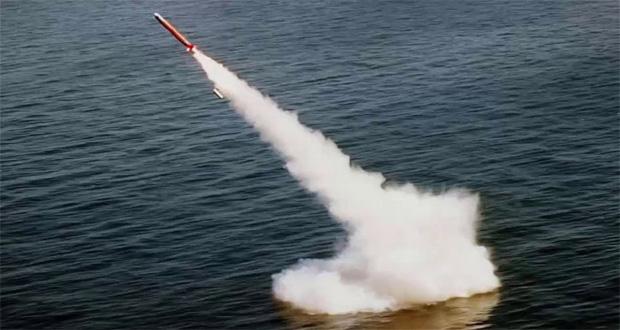 TECNOLOGIA: Míssil de cruzeiro paquistanês lançado de debaixo d'água voa com perfeição, mas só com metade do alcance do seu similar disparado de terra