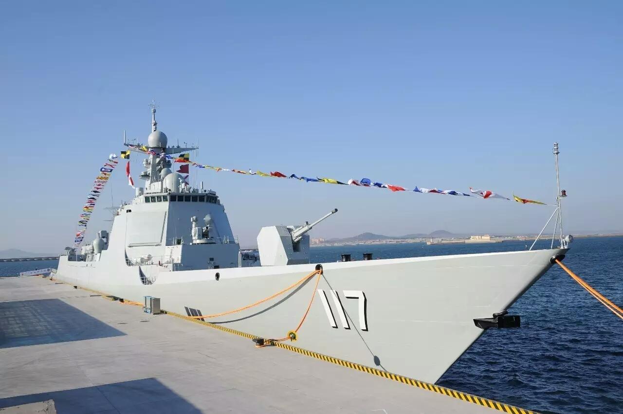 China comissiona terceiro navio em 2017 desta vez um DDG Type 52D