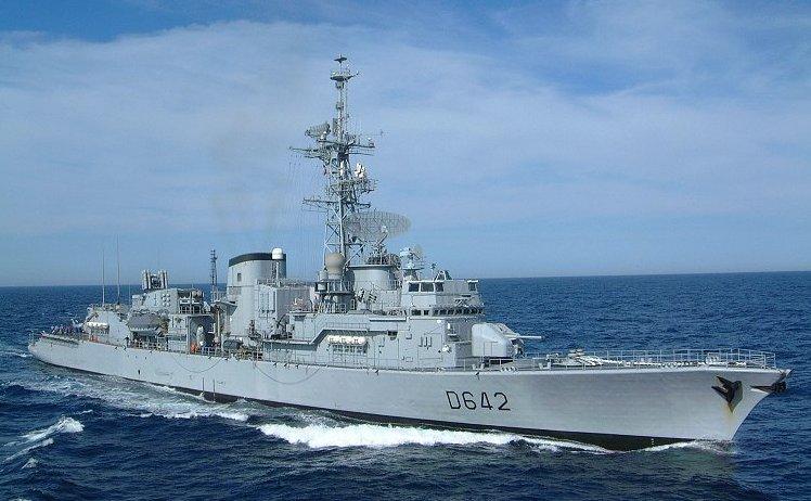 Mercado de usados: Marinha francesa anuncia a baixa de sua 3ª fragata antissubmarina classe Georges Leygues