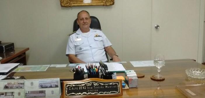 Marinha vai substituir fragatas por corvetas, revela Alm. Ivan Taveira