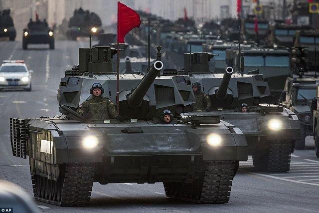 Rússia aniquilaria do campo de batalha a Grã Bretanha em uma tarde afirma Think Tank  do exército britânico