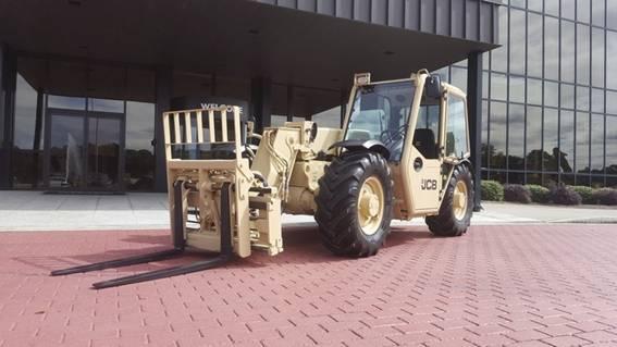 Exército Norte-Americano compra mais de 1.600 máquinas JCB