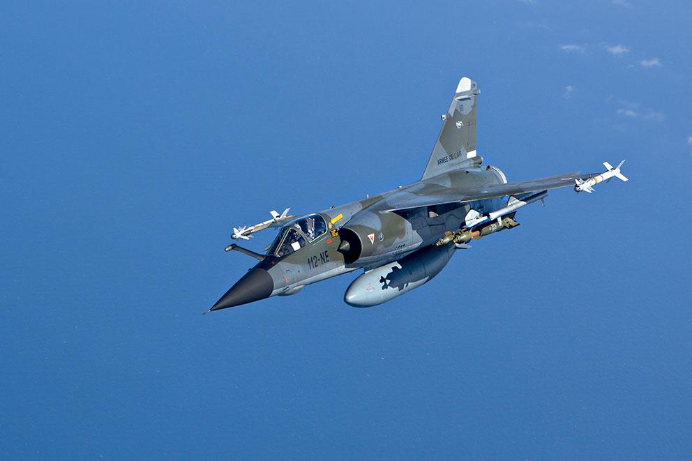 PARA SEMPRE MIRAGE:  Dassault Mirage F1