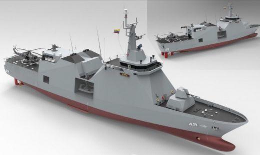 Tendo dobrado a sua Força de Submarinos por meio de navios alemães usados, Armada colombiana surpreende de novo, e anuncia o projeto de um patrulheiro com porte de corveta porta-mísseis