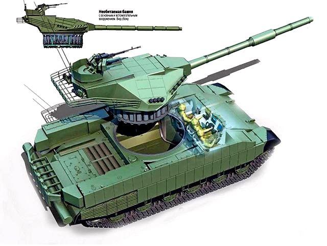 Vem aí o T-Rex, a resposta ucraniana ao CC russo T-14 Armata