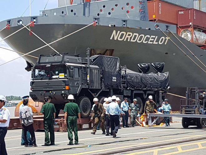 Vietnã recebe segundo lote do sistema de defesa antiaérea SPYDER-SR