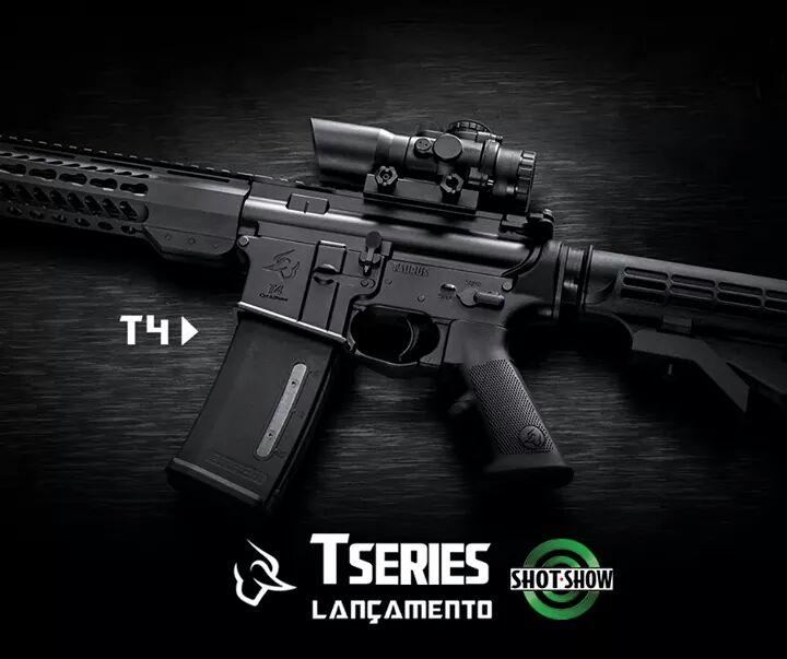 Made in Brazil: Fuzil Taurus T4