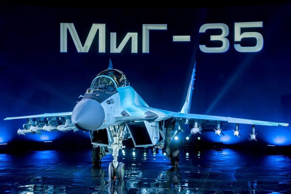Rússia apresenta oficialmente o MiG-35:  Um vetor econômico ou inovação tardia?