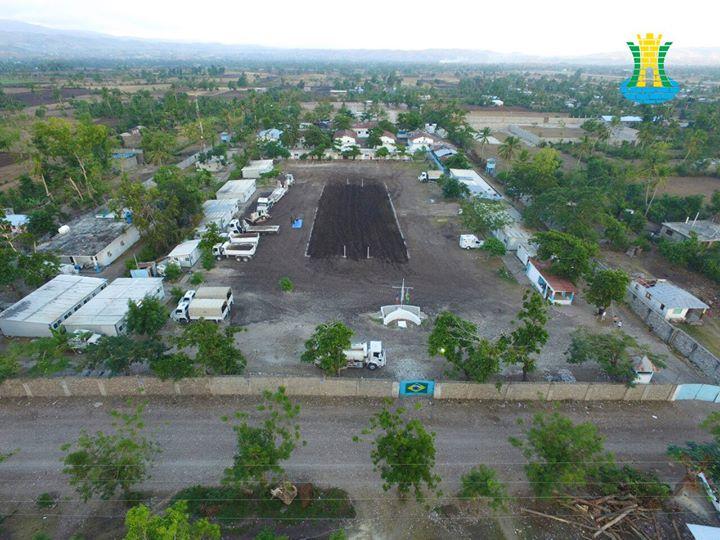 MINUSTAH:  Companhia Brasileira de Engenharia de Força de Paz (BRAENGCOY) realiza obras para a devolução da Base La Borde
