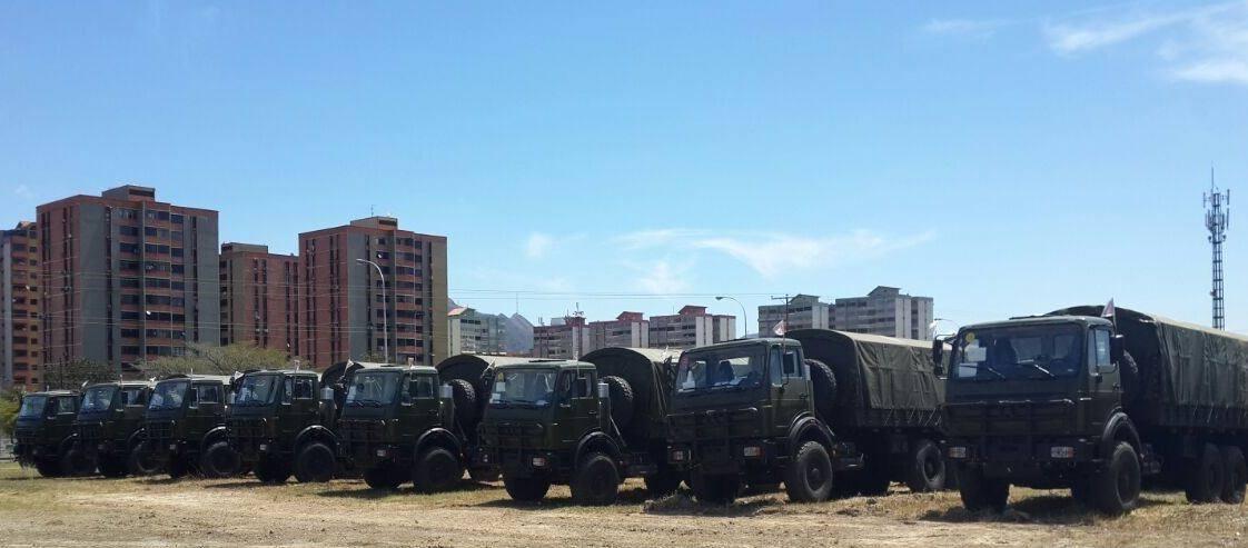Venezuela recebe lote de caminhões Beiben 2629 6×6 QT da China