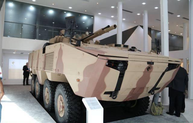 IDEX 2017: Emirados Árabes Unidos confirmam a aquisição de 400 unidades do veículo blindado Rabdan 8×8