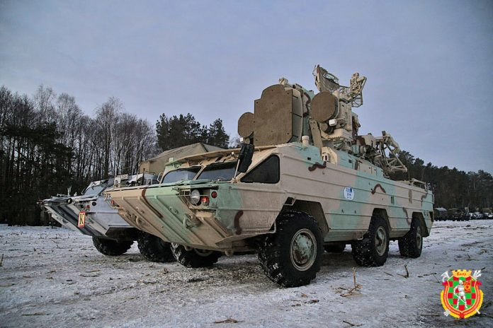 Bielo-Rússia testa com sucesso seu sistema antiaéreo modernizado 9A33-1B