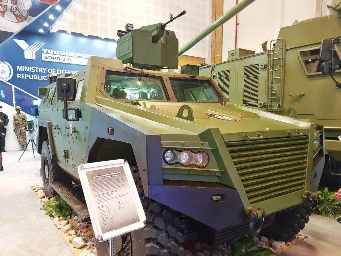 """IDEX 2017: Sérvia revela o novo veículo blindado multifuncional 4×4 – """"Milosh"""""""